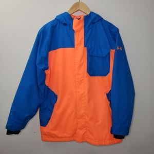 Under Armour Color Block Youth Jacket Size L